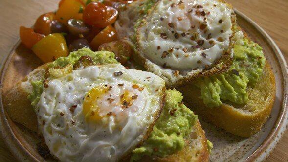 Fancy Avocado Toast Recipes With A Fried Egg