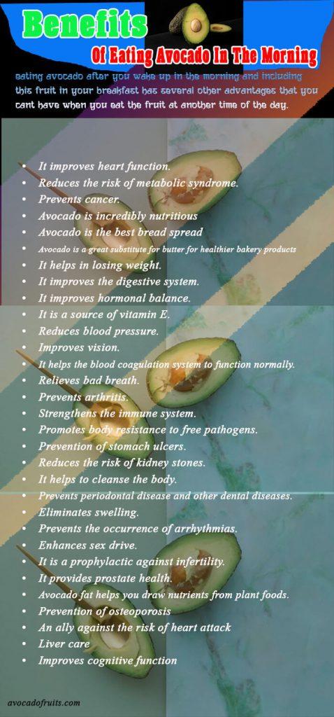 avocado benefits fruits