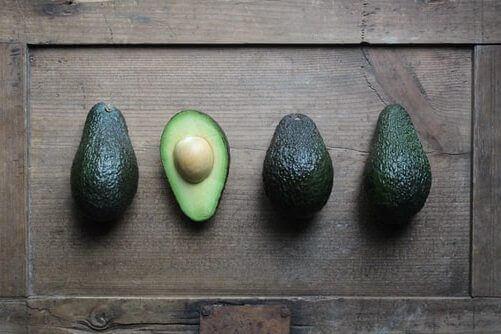 Image avocado fruits