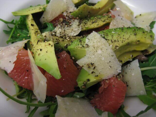 Avocado Grapefruit Salad Recipe Image