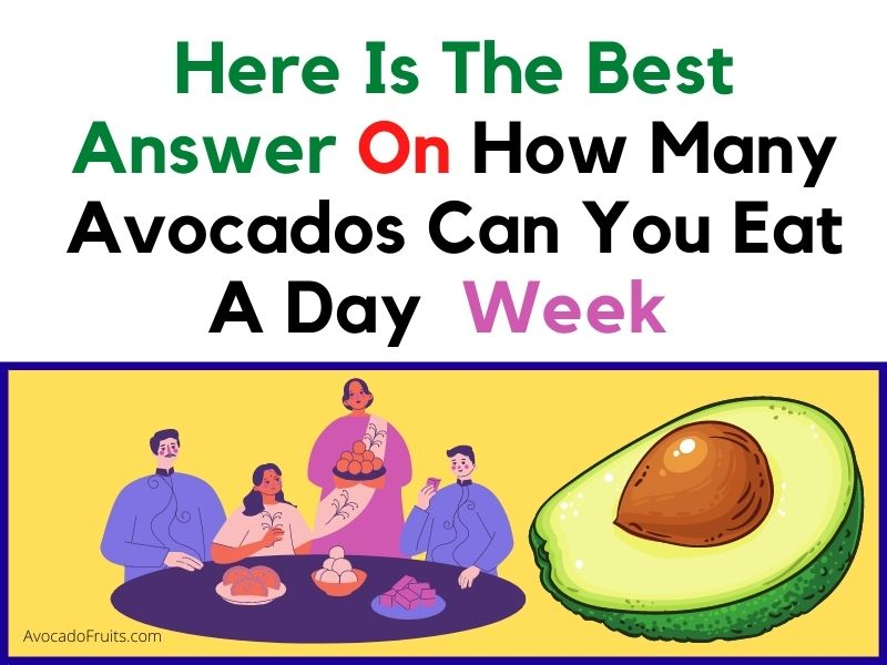 How Many Avocados Can You Eat A Week Answer