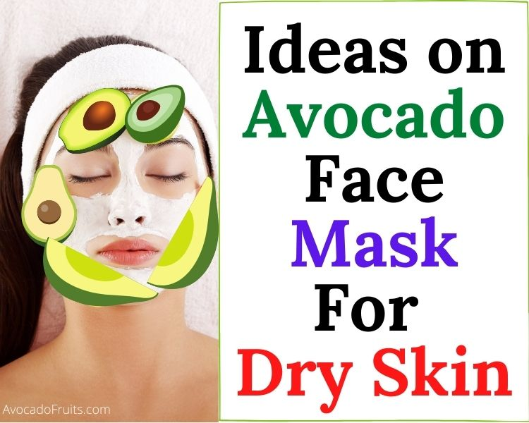 Ideas For Avocado Face Mask For Your Dry Skin