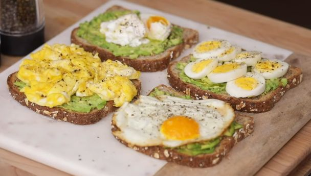 Avocado Toast Recipe With Egg